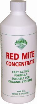 Barrier Organic Red Mite Concentrate - 500ml