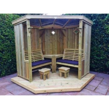 Decking for Four Seasons Garden Room - NB This is Decking only