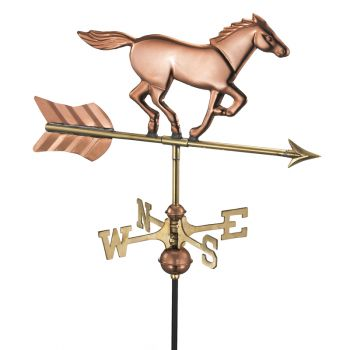 Cottage Horse Copper Weathervane