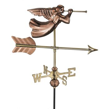 Cottage Angel Copper Weathervane