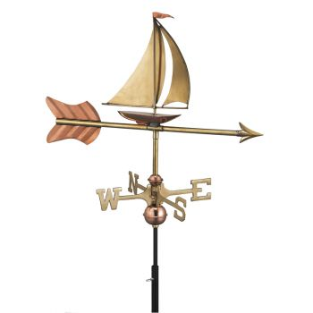 Cottage Yacht Copper Weathervane