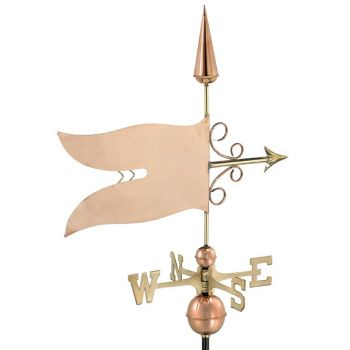 Farmhouse Copper Banner Weathervane