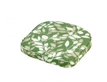 Cotswold Leaf Standard D Pad Outdoor Garden Furniture Cushion