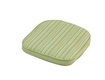 Cotswold Stripe Standard D Pad Outdoor Garden Furniture Cushion