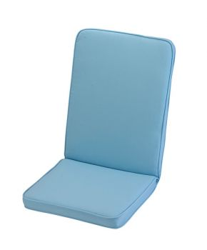 Placid Blue Low Recliner Cushion