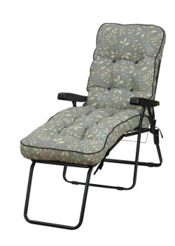 Deluxe Lounger Country Teal