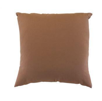 "Scatter Cushion 18"" x 18"" Mocha Outdoor Garden Furniture Cushion"