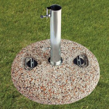 25kg Florida Stone Granite Parasol Base