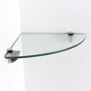 Glass Corner Shelf Kit - Clear