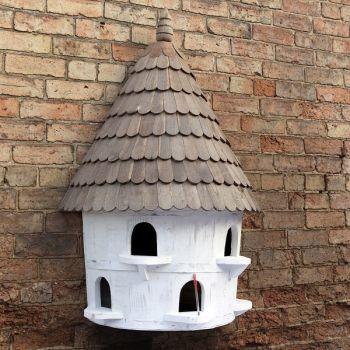 Medium Half Round Birdhouse
