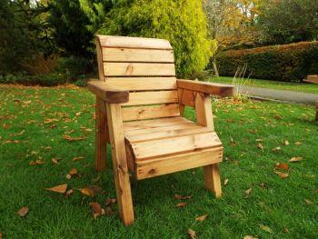 Little Fellas Chair, wooden garden furniture for children, fully assembled