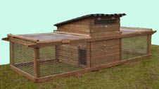 Hintsford Universal Chicken Coop - For up to 6 Hens