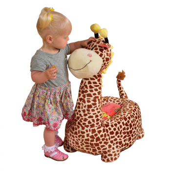 Riding Giraffe - Brown
