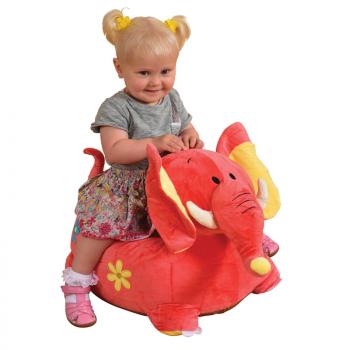 Riding Elephant - Pink