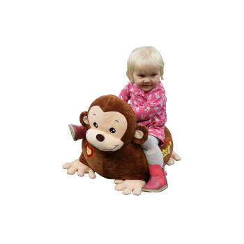 Riding Monkey - Brown