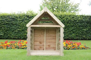 Buttercup Deluxe Firewood Log Store