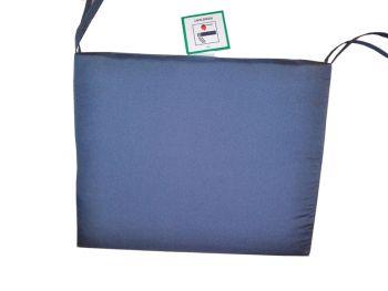Waterproof Seat Pads - Single Grey Cushion - Outdoor Cushion for Garden Furniture