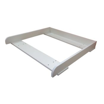 Kidsaw Kudl Kids Changing Board For IKEA MALM - White