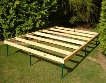 Shed Base Approx 10 x 7 Feet