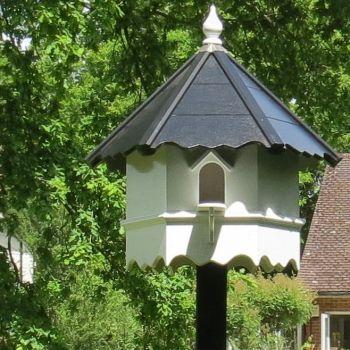 Manningtree Dovecote, one tiered Hexagonal Birdhouse