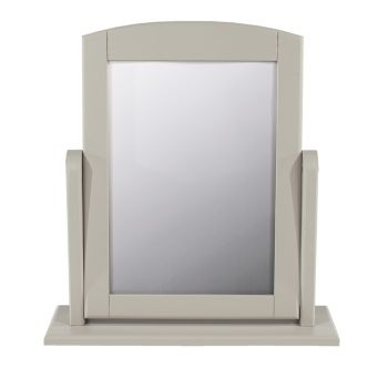 Elgin Single Mirror, Grey Finish