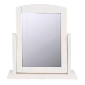 Highland Home AB Assembled White Finish Single Mirror