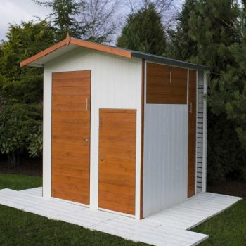 Apex 6' x 6' Dip Treated Shed Multi Store