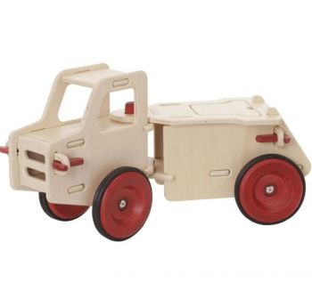 Moover Wooden Ride On Dump Truck Natural