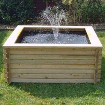 120 gallon Square Pool