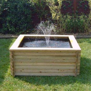 60 gallon Square Pool