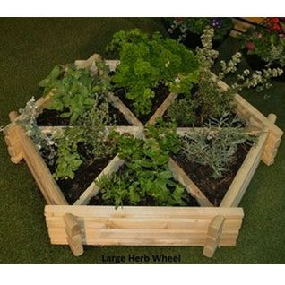 Medium Herb Wheel / Planter