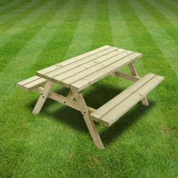 Oakham Junior Picnic Bench 5ft