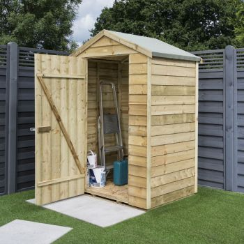 Overlap 4x3 Shed