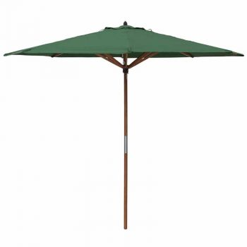 Willington Green 2.7m Wooden Parasol