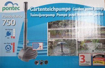 Pondtec 750 lph pump