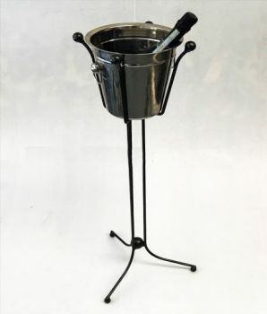 Champagne/Prosecco Bucket and Stand