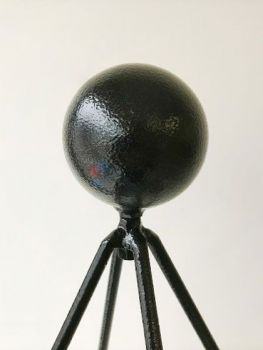 Large Ball Top Bare Metal/Ready to Rust