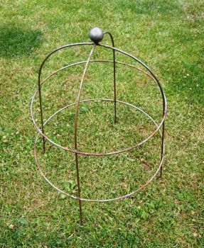 Pack of 3 Large Bell Cloche 90 (The Plant Cage Support)