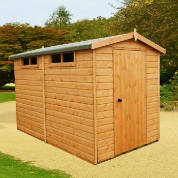 Security Apex Handmade Garden Shed Approx 10 x 6 Feet