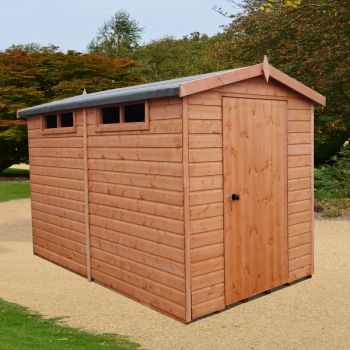 Security Apex Handmade Garden Shed Approx 10 x 8 Feet