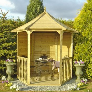 Shire Arbour Garden Arch Seat Approx 6 x 7 Feet