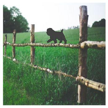 Affenpincher Fence Topper - Large