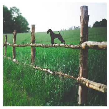 Airedale Fence Topper - Large