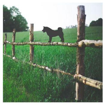 Akita Fence Topper - Large