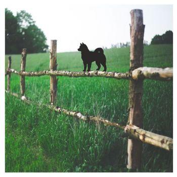Alaskan Malamute Fence Topper - Large