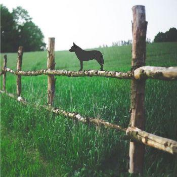 Australian Cattle Dog Fence Topper - Large