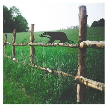 Badger Fence Topper - Large