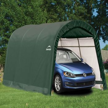 10x15 Round Top Auto Shelter