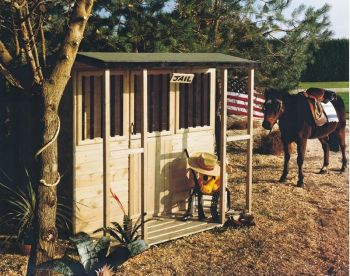 Jailhouse/Stable Playhouse Children's Wendy House