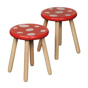 Toad Stool Pack of 2
